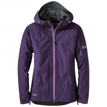 Bunda Outdoor Research ASPIRE Jacket - Eldenberry (fialová)