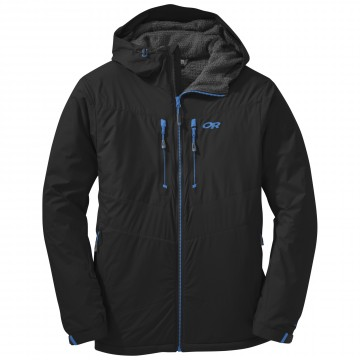 4792d841c3de Bunda Outdoor Research ALPENICE HOODED Jacket Black (čierna)