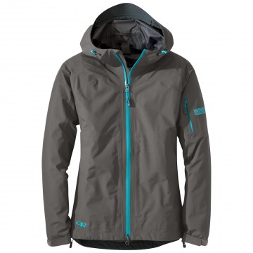 Bunda Outdoor Research ASPIRE Jacket - Pewter (sivá)