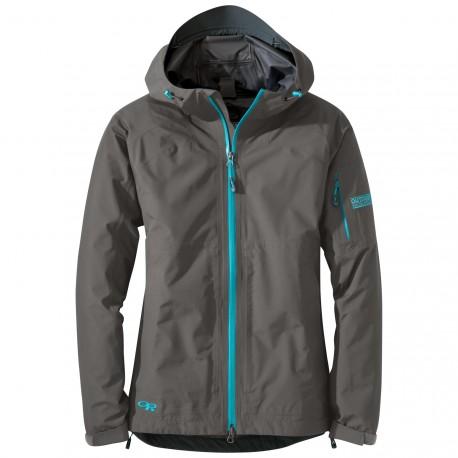 Bunda Outdoor Research ASPIRE Jacket - Pewter (sivá)