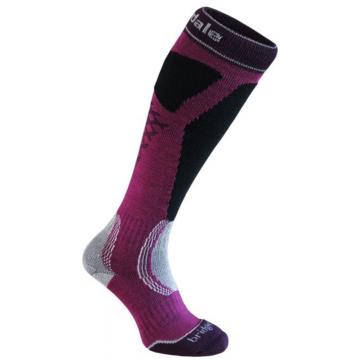 Ponožky BRIDGEDALE Ski Easy On ( 046 purple-black) Dámske