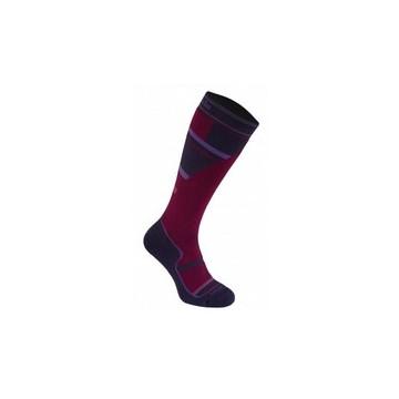 Ponožky BRIDGEDALE Ski Mountain (purple-grey) Jr.