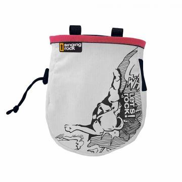 Vrecko na magnézium Singing Rock CHALK BAG COMIC