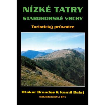 Kniha Nízke Tatry - Starohorské vrchy - turistický sprievodca