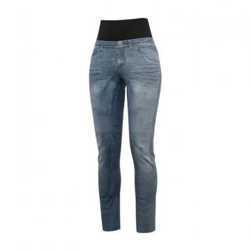 Nohavice CRAZY Idea Sound W (X015 Jeans-black) Dámska