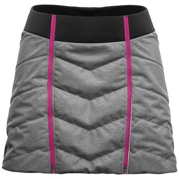 Sukňa CRAZY Idea Feel (pink/grey) Dámska
