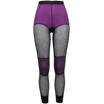 Spodky BRYNJE Wool Thermo Longs (black-violet) Dámske