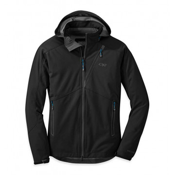 Bunda Outdoor Research LINCHPIN HOODED JACKET Black