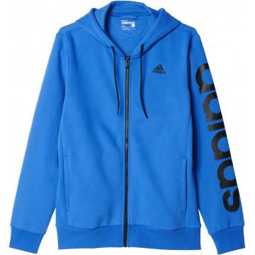 Mikina Adidas Essential Linear FZ HOOD - B49911