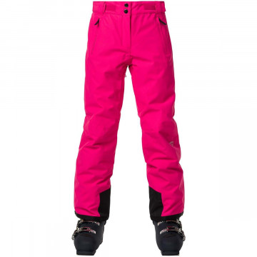 Nohavice Rossignol CONTROLE Pant GIRL pink
