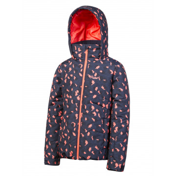 Bunda Protest Carvy JR dark blue/pink