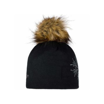 Ciapka ROSSIGNOL Fily Fur W (black) Dámska