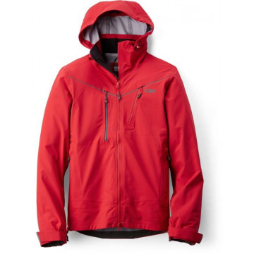 Bunda Outdoor Research SKYWARD M Hooded red (červená)