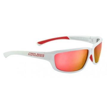 Salice 001RW white/mirror hydro red