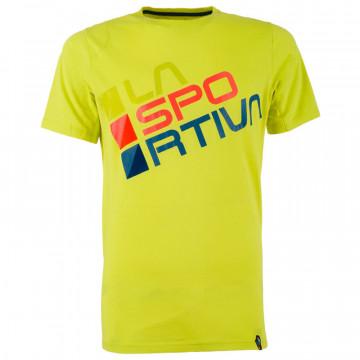 Tričko LA SPORTIVA Square yellow/green