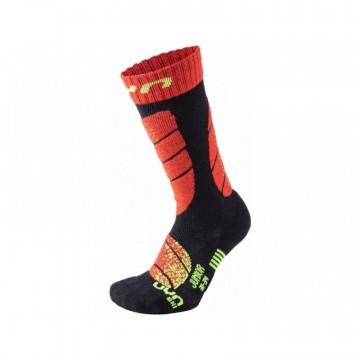 Ponožky UYN Ski (B102 black-red) Jr.