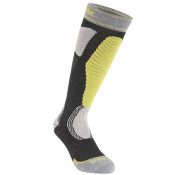 Ponožky BRIDSEDALE Ski Easy On (grey-lime 140)