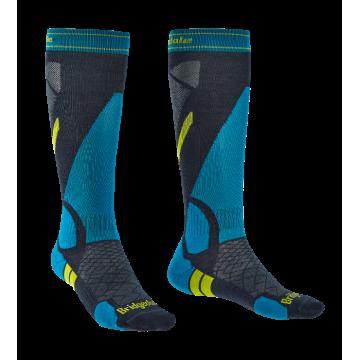 Ponožky BRIDSEDALE Ski Light Weight (grey-blue 136)