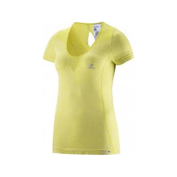 Tričko SALOMON Elevate Seamless (yellow) Dámske