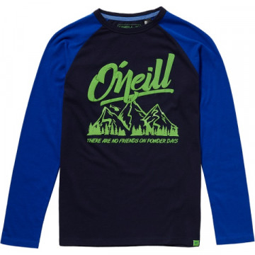 Tričko O´NEILL Oceansid (8A2172 black-blue) Jr.
