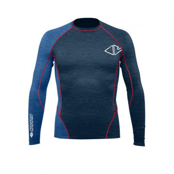 Tričko CRAZY Idea Fahrenheit M blue dark